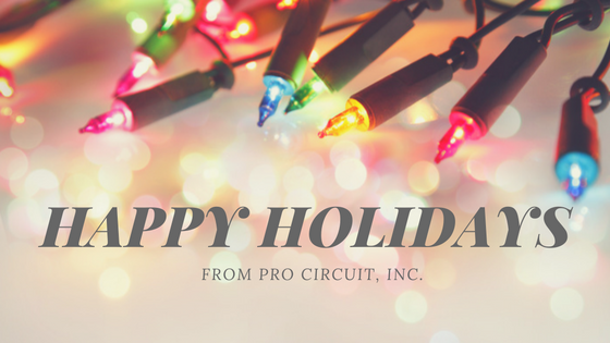 Happy Holidays From Pro Circuit