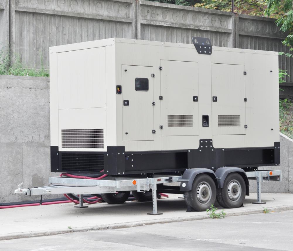 Mobile-diesel-generator