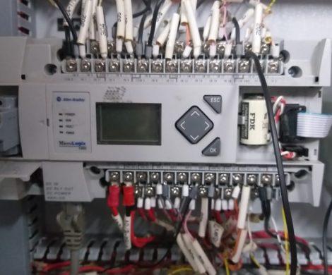 PLC Control Panel programming and installation
